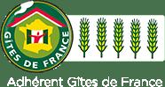 Adhérent Gîtes de France - 5 épis